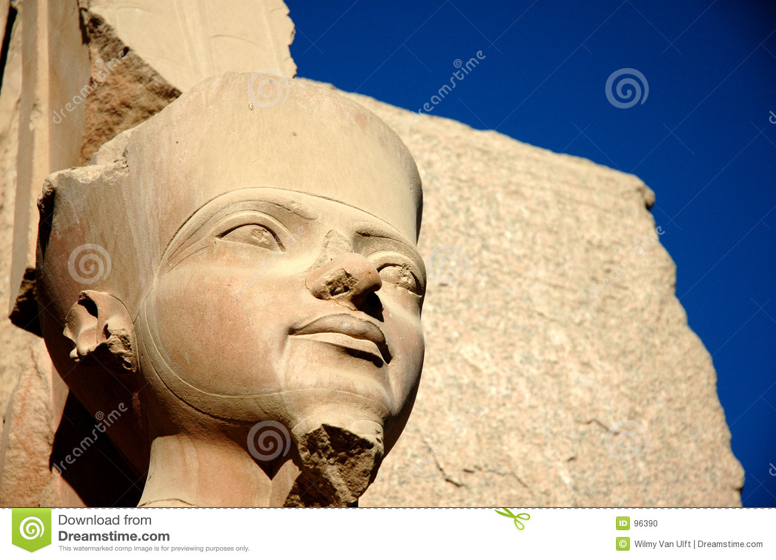 Egyptisch standbeeld