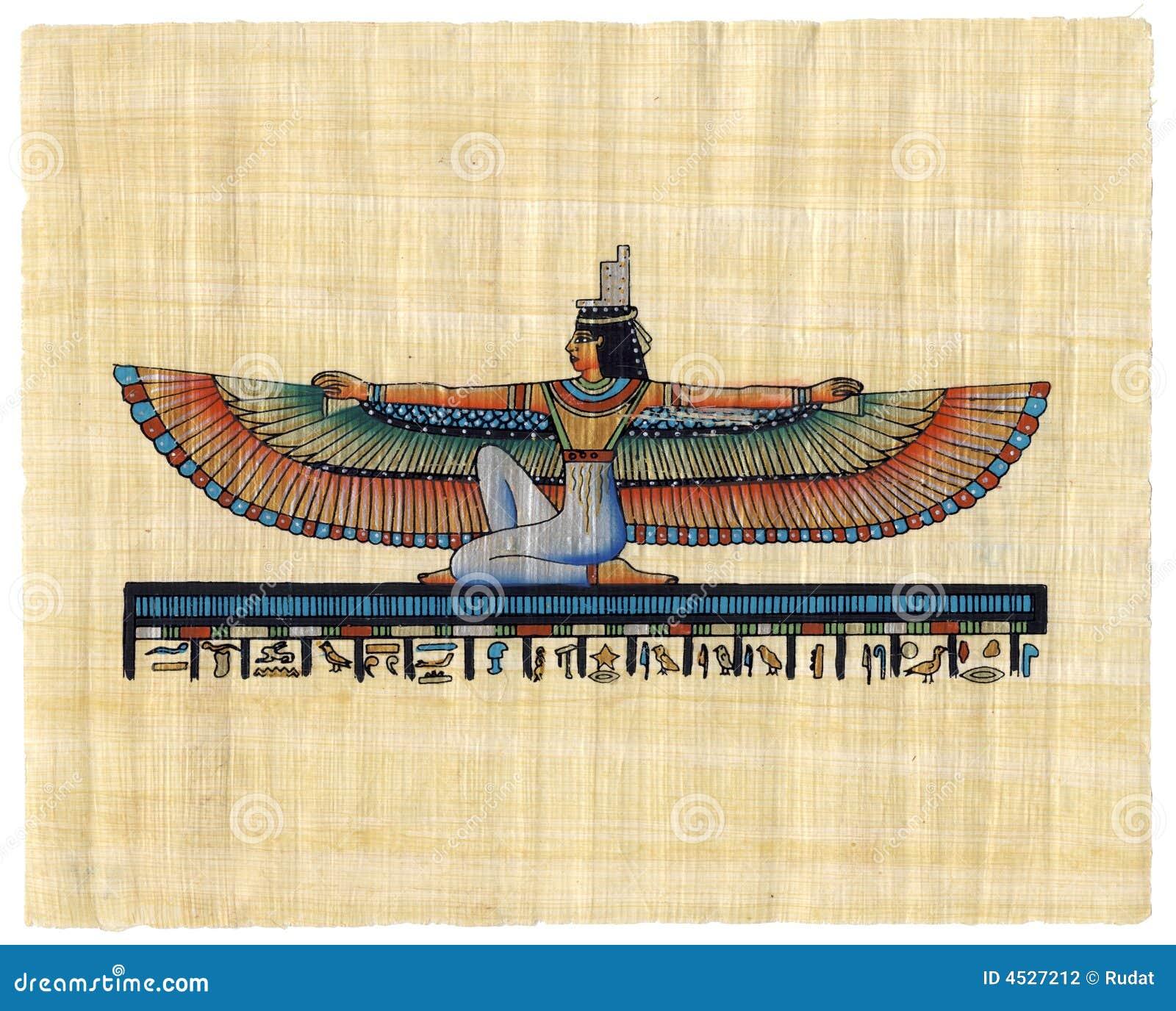 Egyptische papyrus