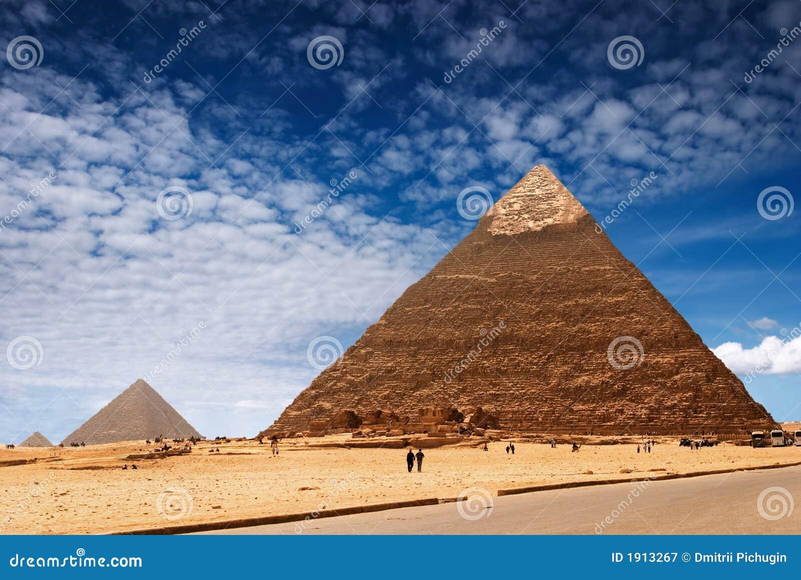 Egyptische piramides