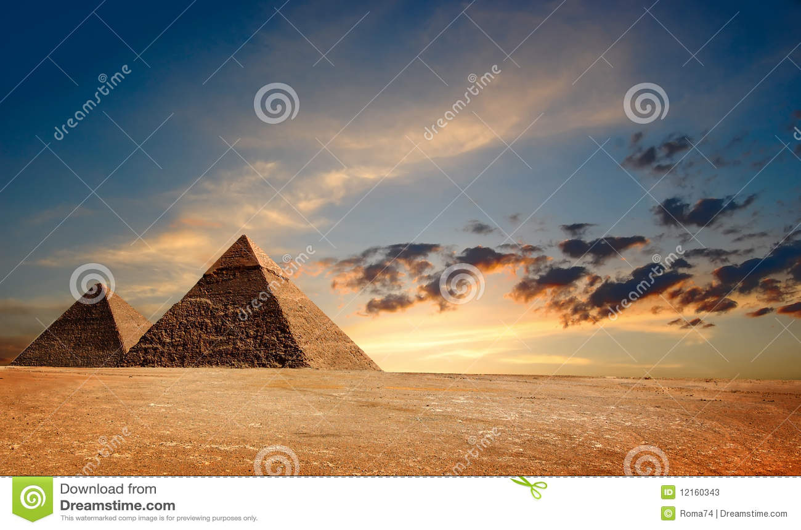 Egyptische Pyramyds