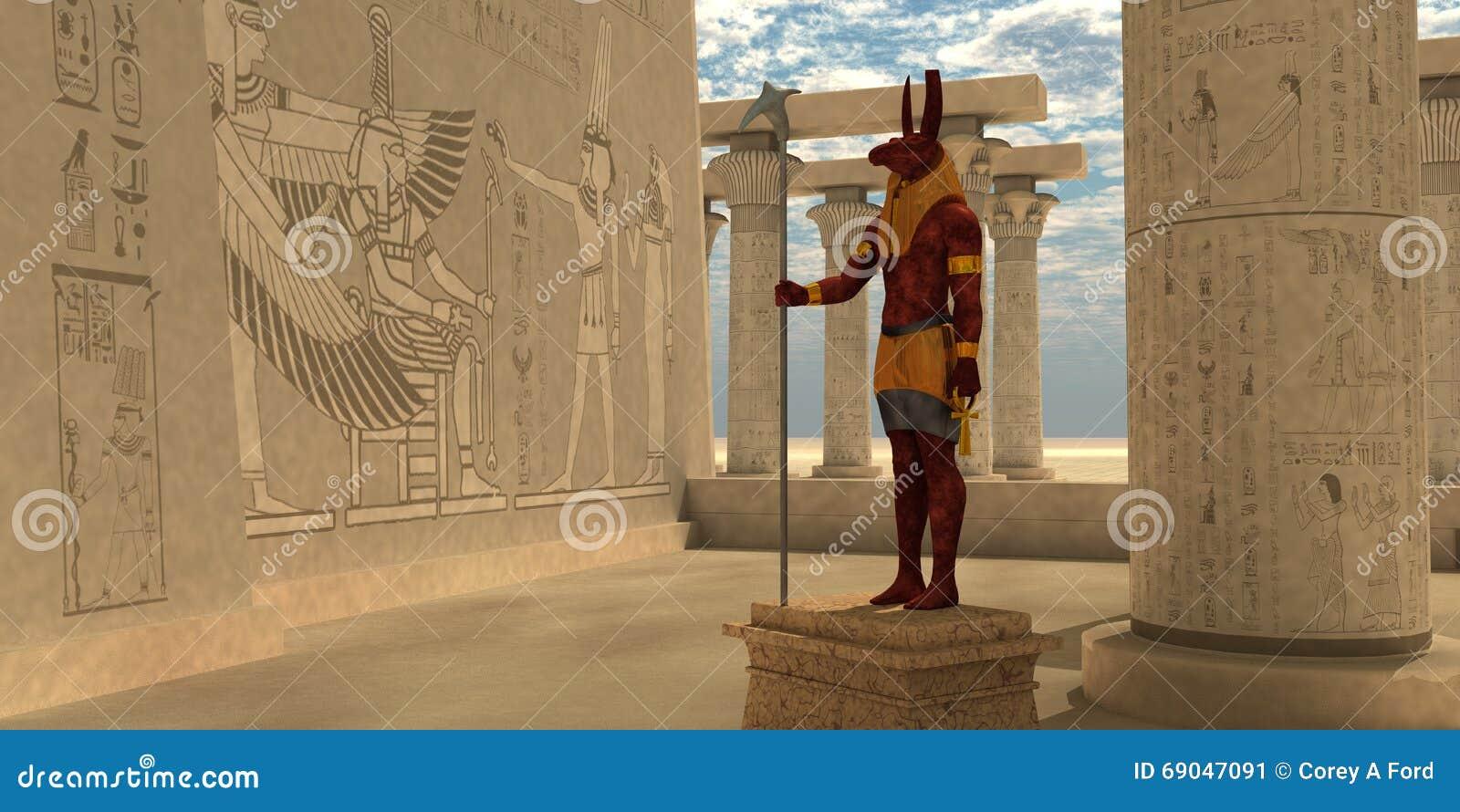Egyptisk gud Seth