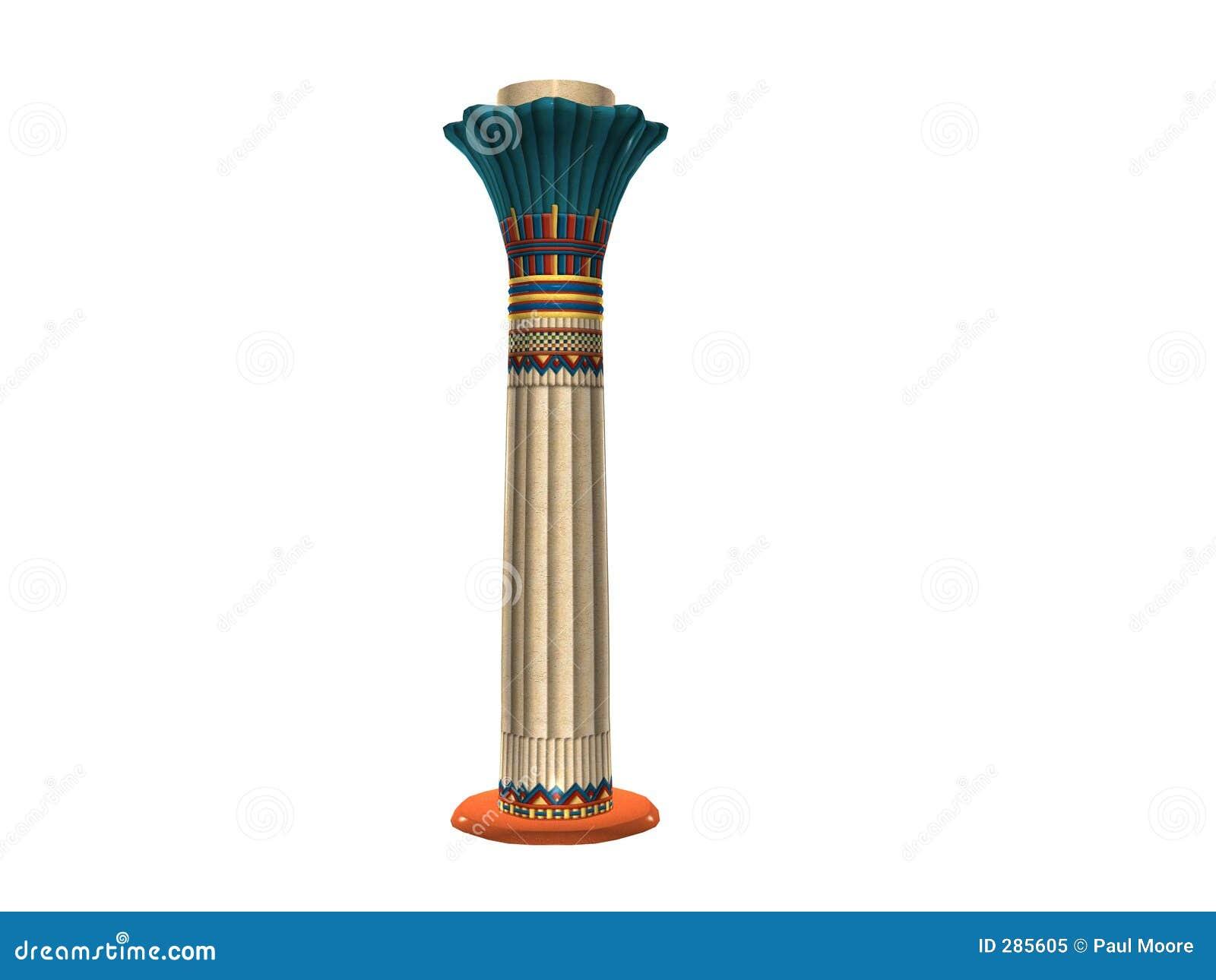 Egyptisk pelare tre