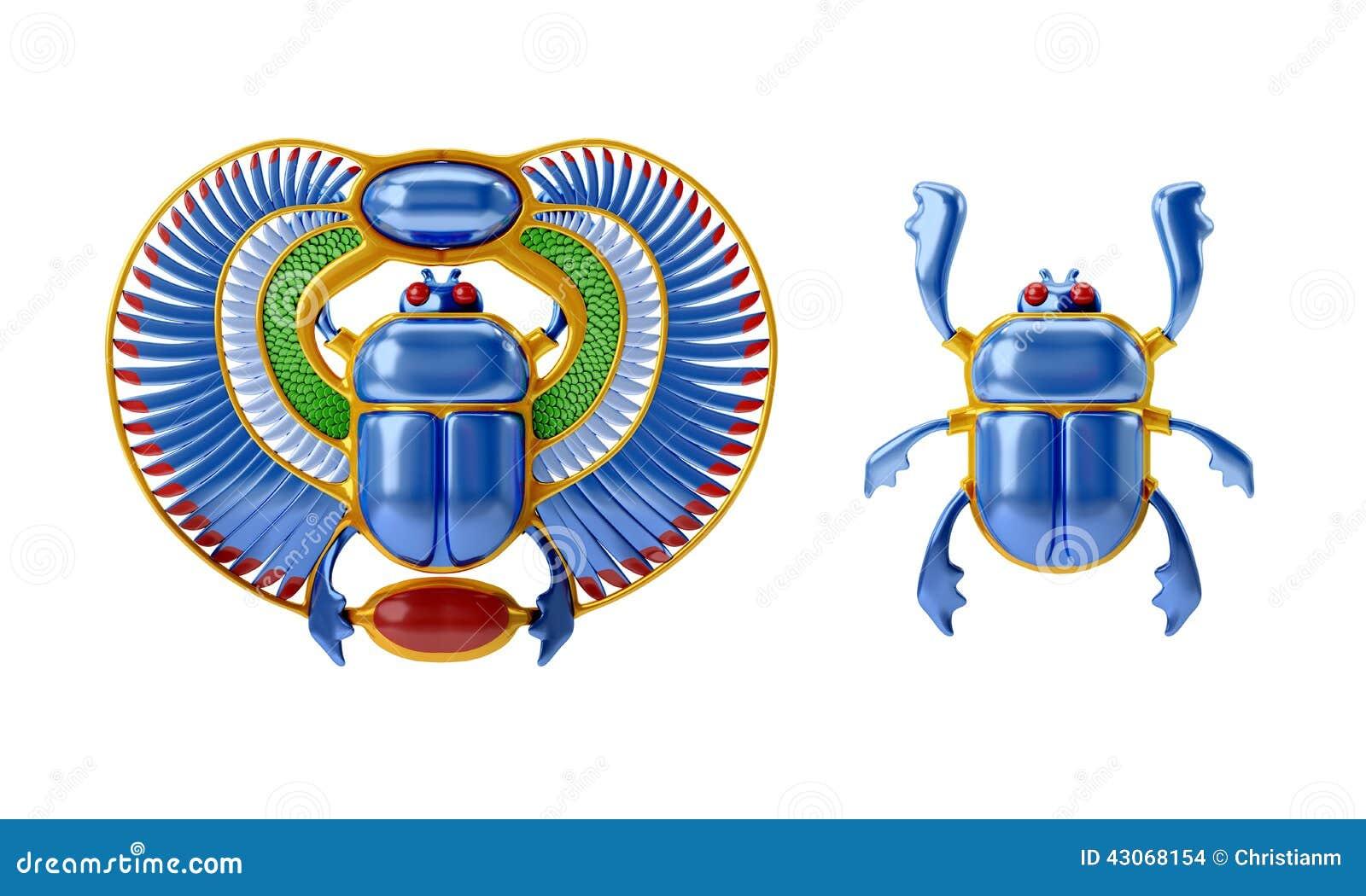 scarab beetle egyptian symbol