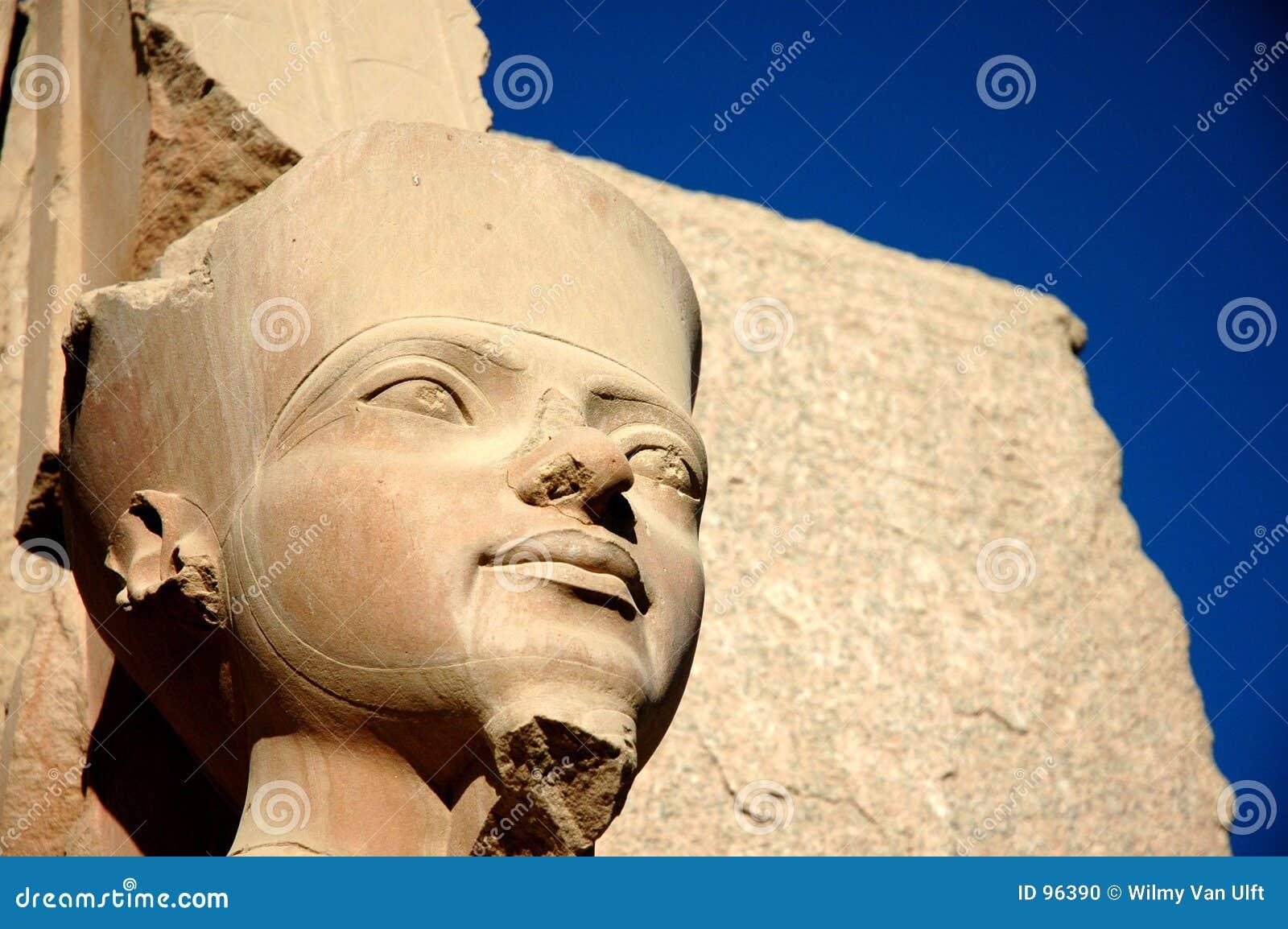 Egyptisk staty