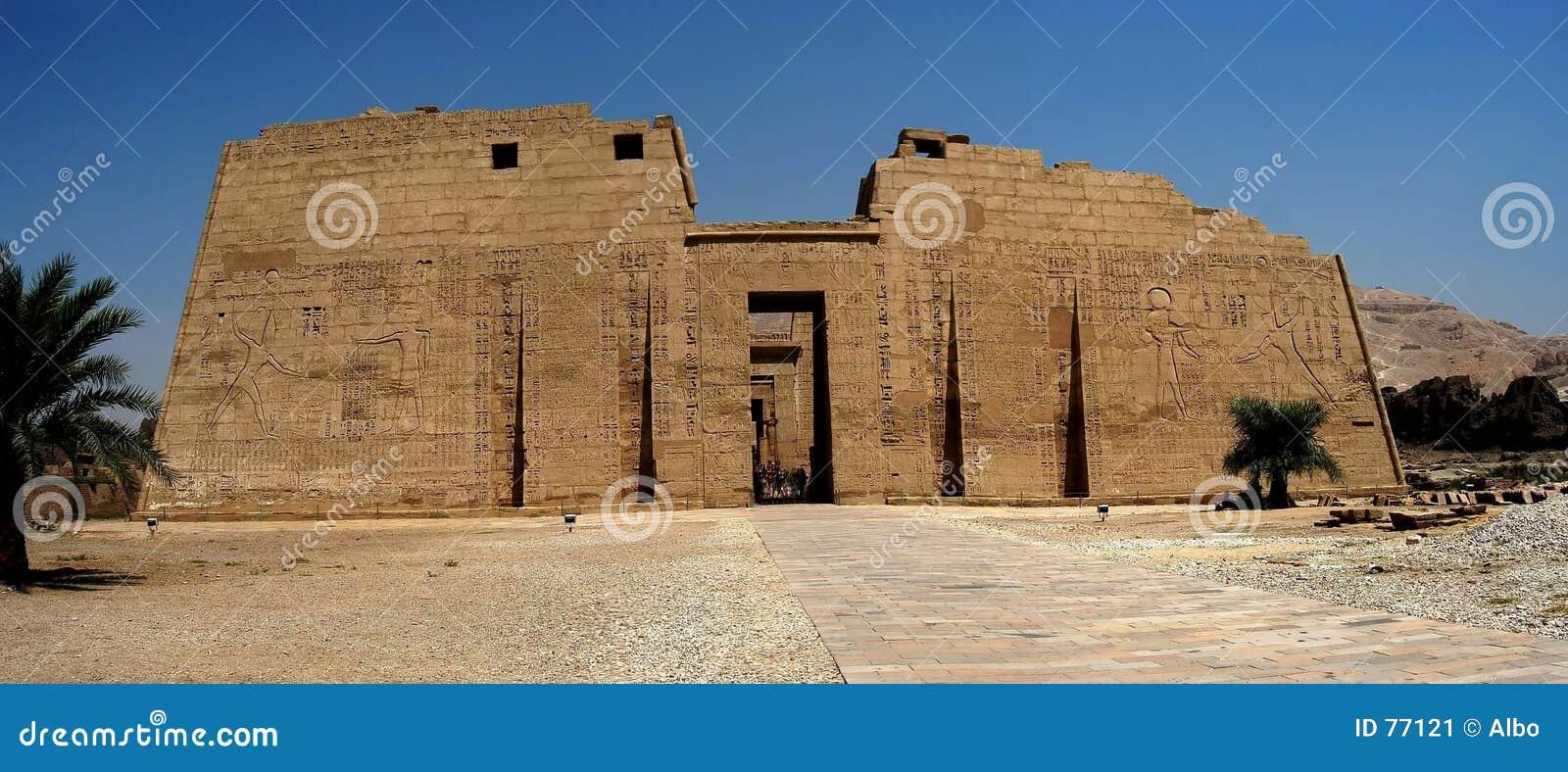 Egyptiskt tempel