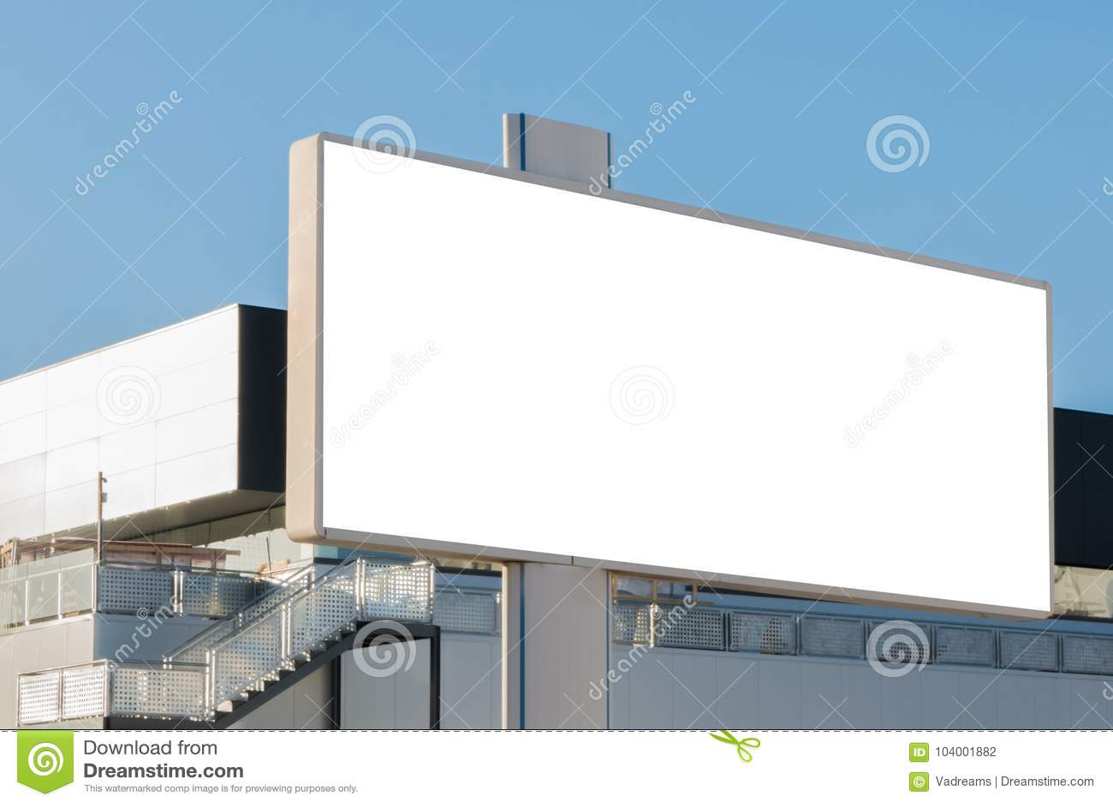 Egzamin próbny Up Pusty billboard, informaci deska, reklamowy plakat