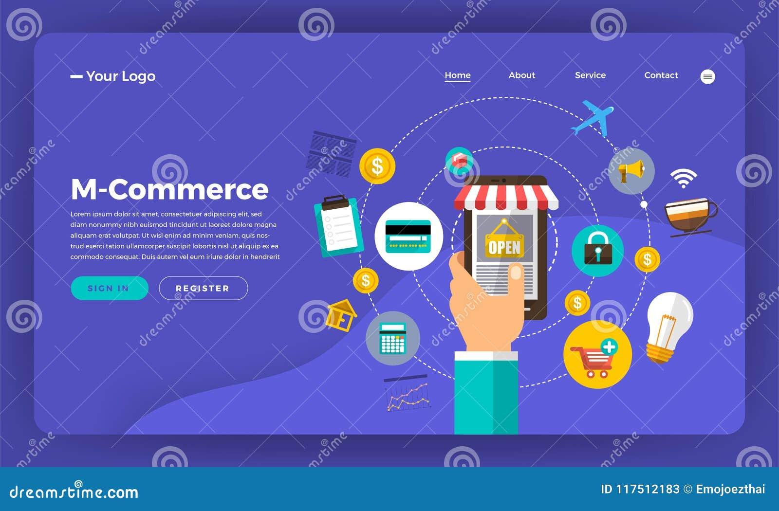 Egzaminu próbnego projekta strony internetowej projekta pojęcia płaski cyfrowy marketing M-