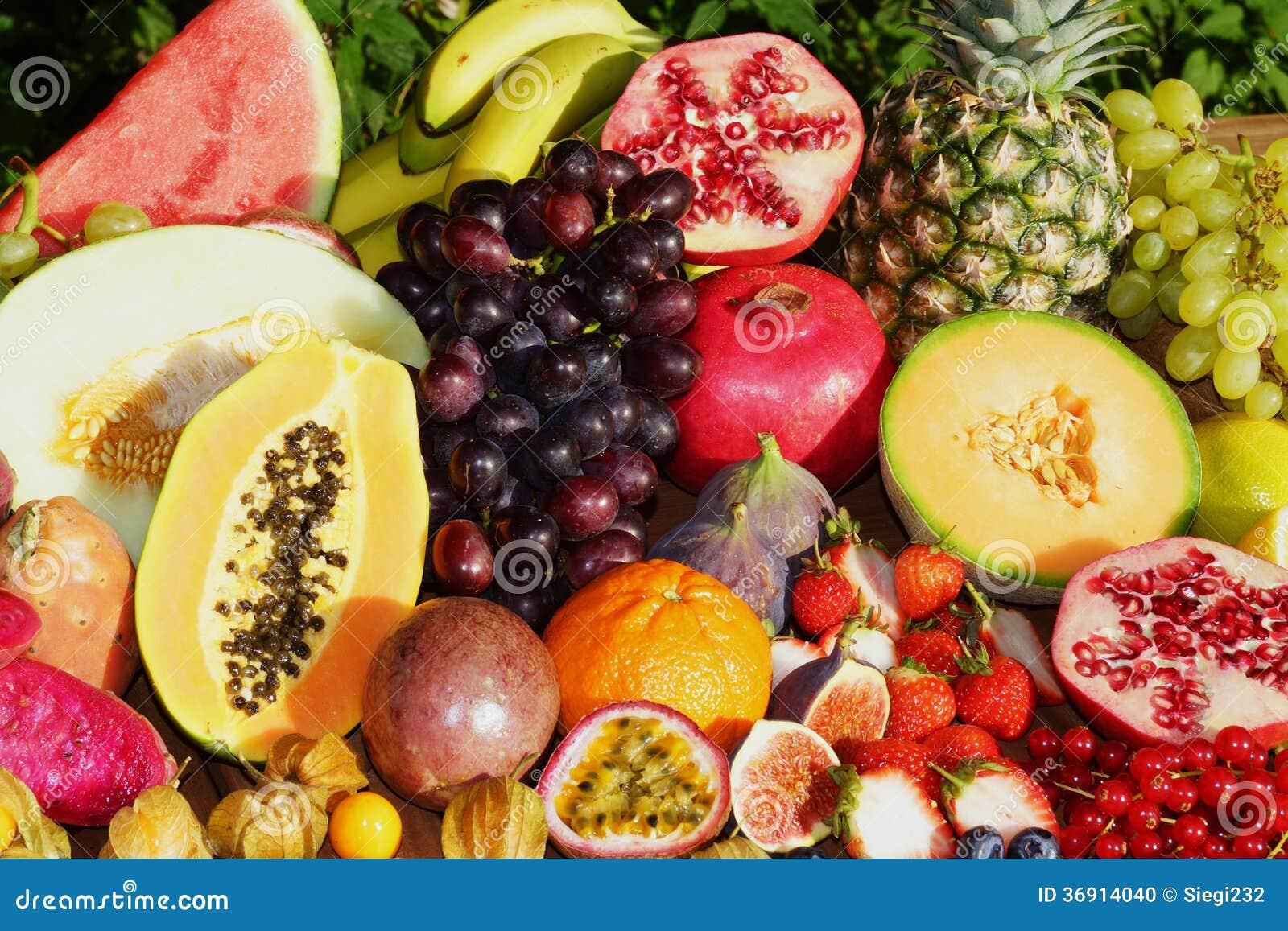 Egzotyczne owoc