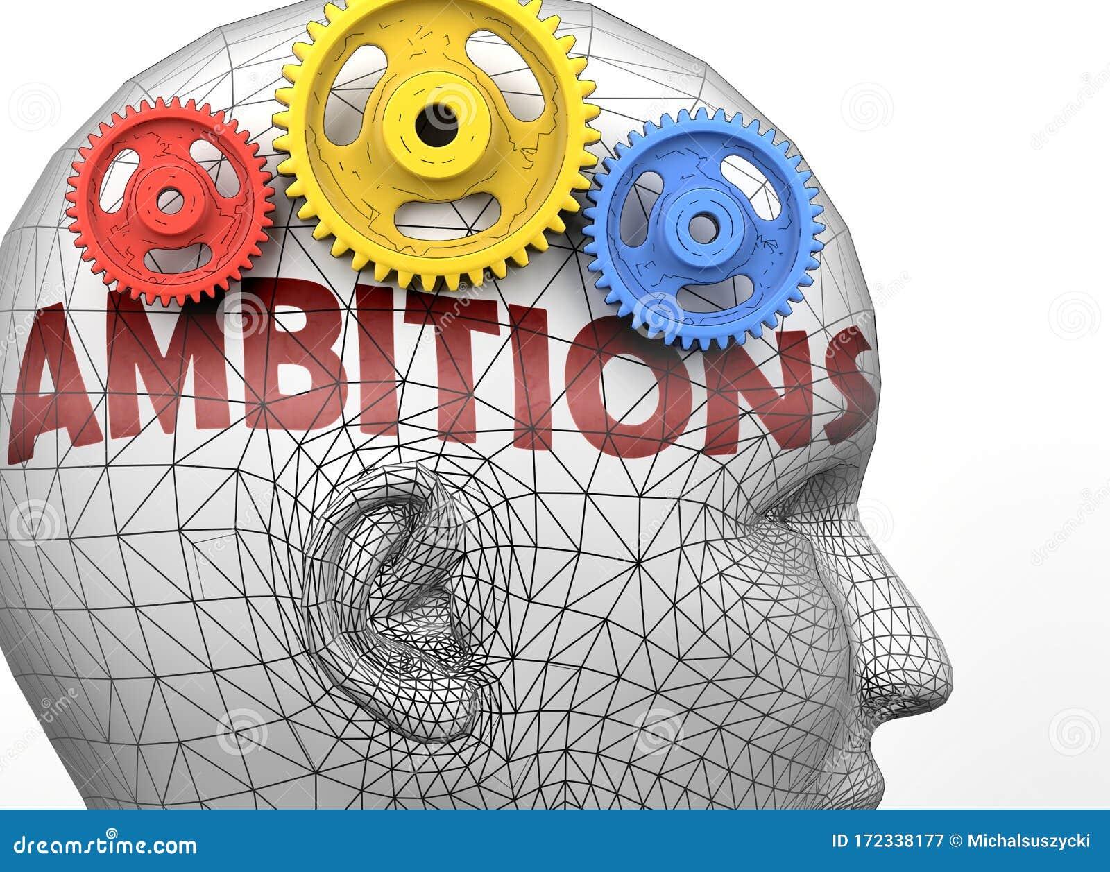Ehrgeiz Und Menschenverstand  Als Wort Ambitionen Innerhalb Eines ...