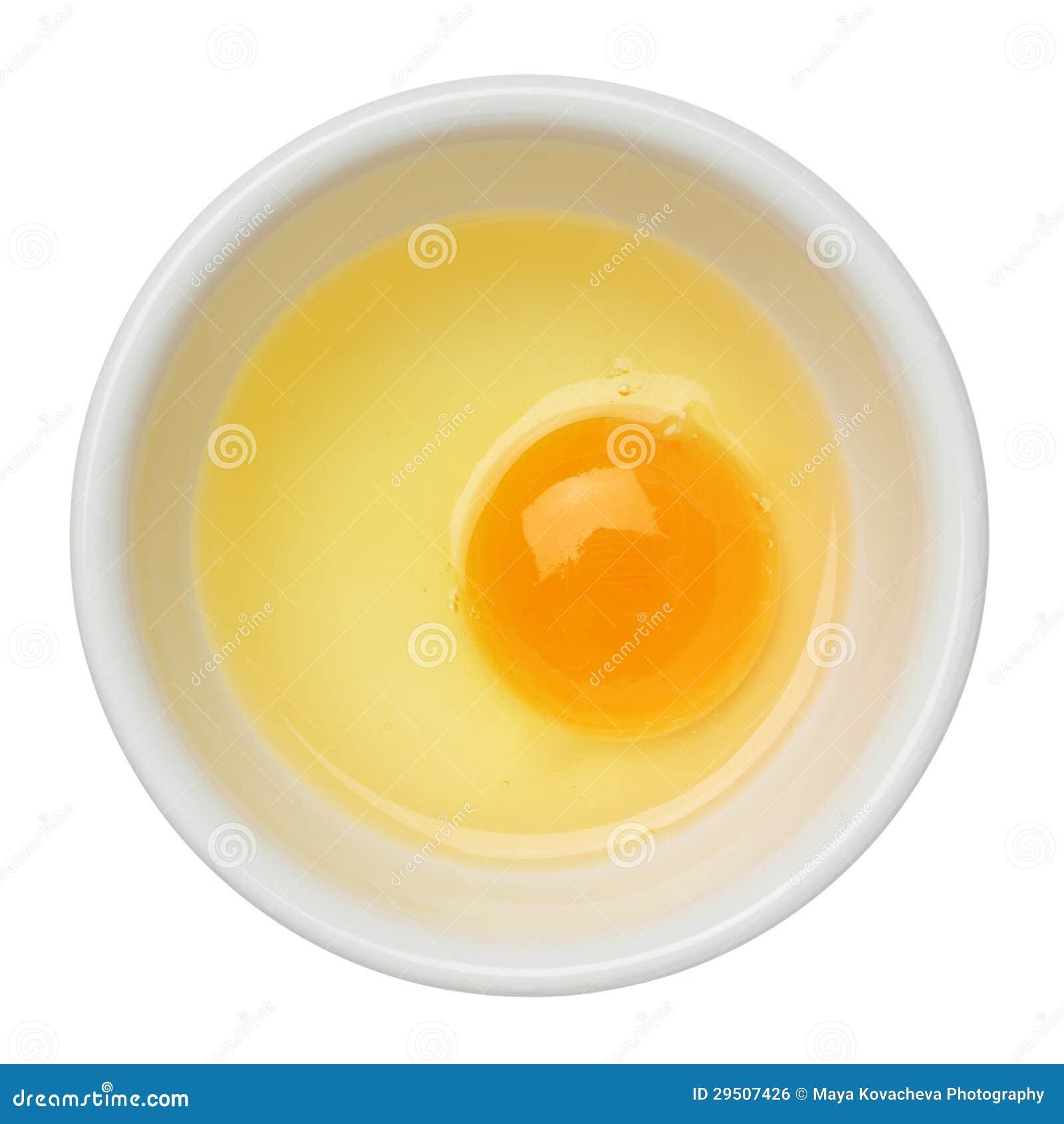 Ei in een kom