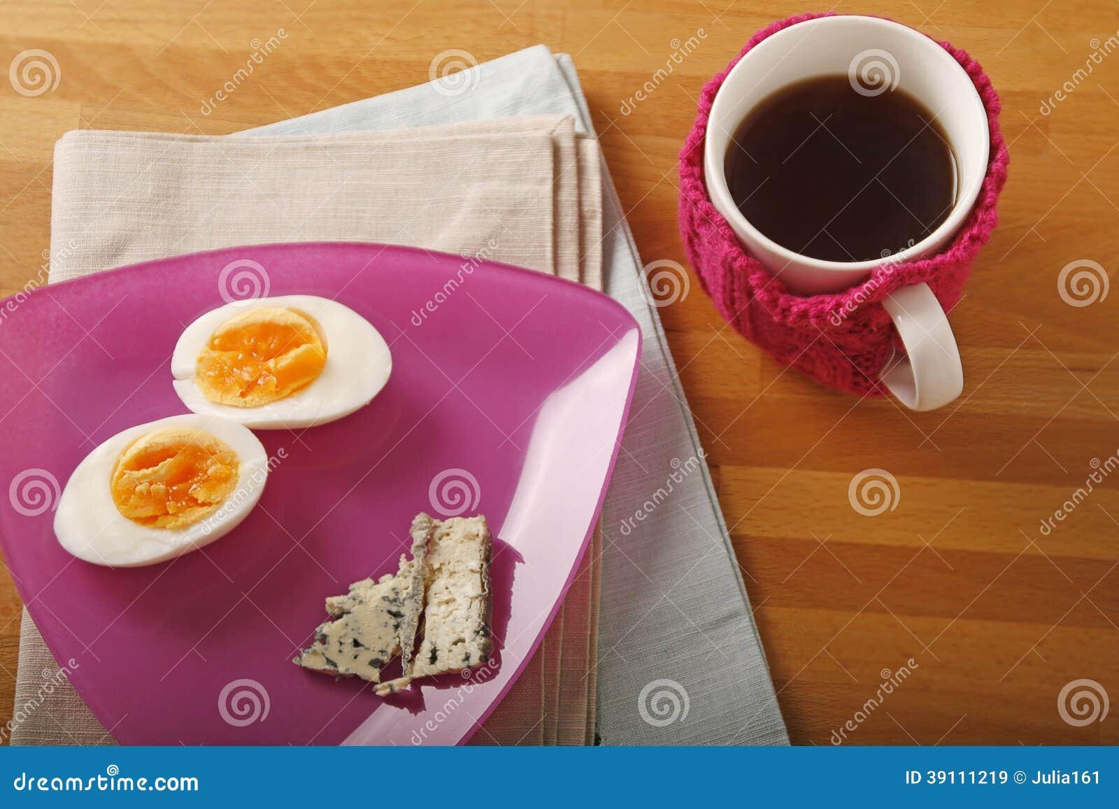 Ei, kaas en thee