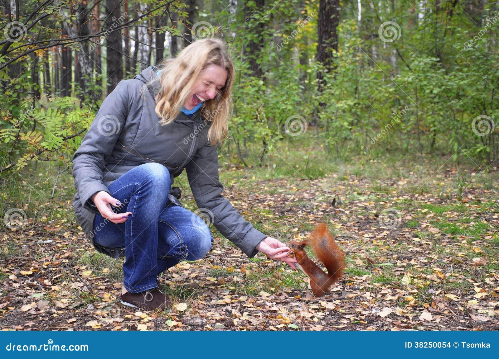 Squirrel Frauen