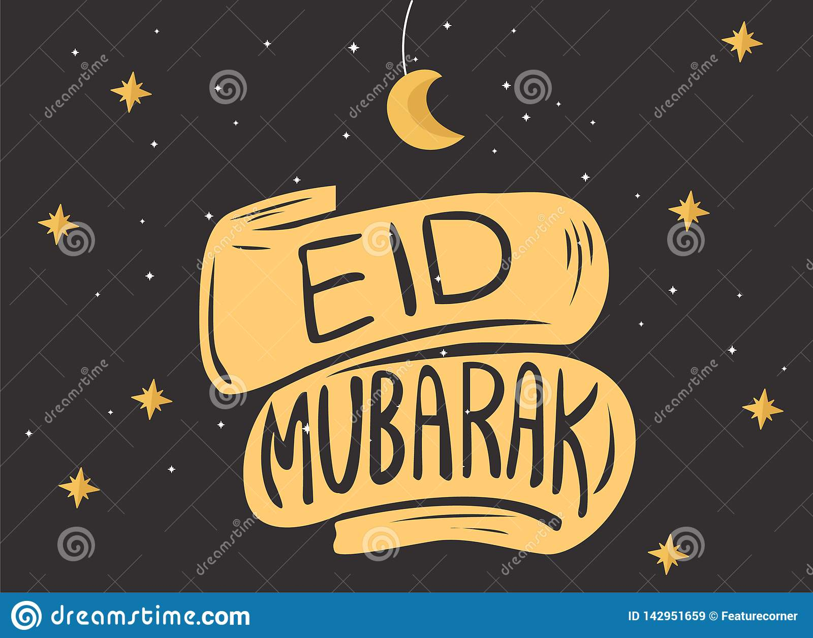 Eid穆巴拉克贺卡例证,横幅的,海报,背景,飞行物,例证斋月Kareem伊斯兰教的节日