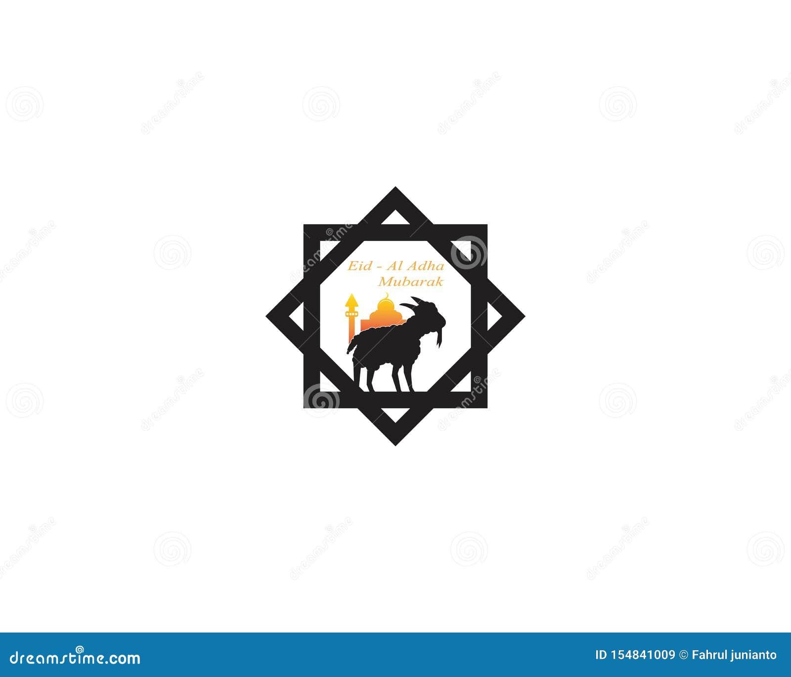 eid al adha mubarak logo vector illustration stock vector illustration of decoration goat 154841009 https www dreamstime com eid al adha mubarak logo vector illustration mosque banner arabic muslim ornament saudi celebration fitr card light festival image154841009