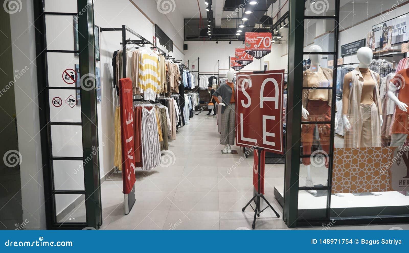 Eid discount before Eid al-Fitr in Hartono Mall Yogyakarta