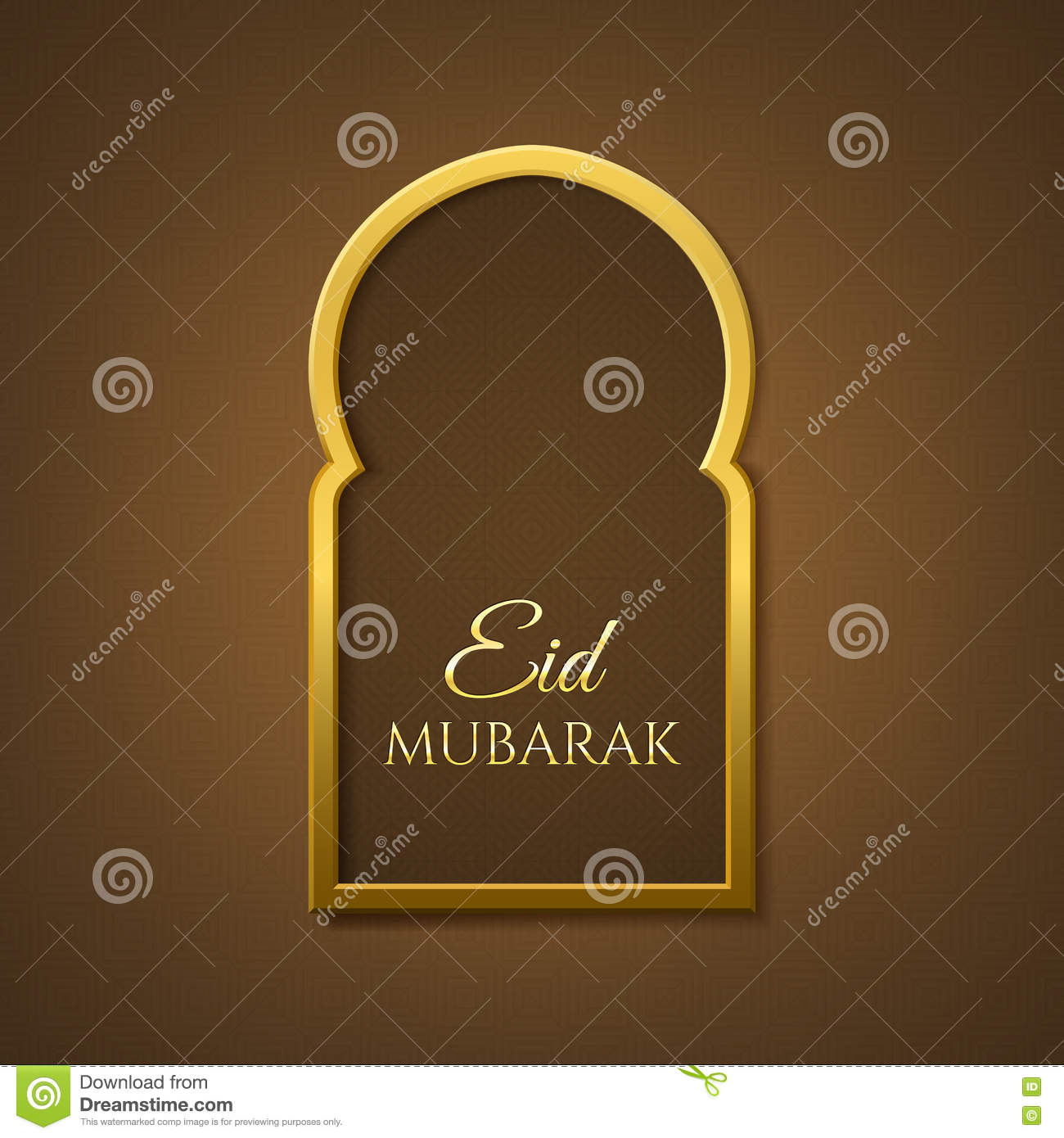 Eid mubarak background greeting card template stock vector greeting card template kristyandbryce Image collections