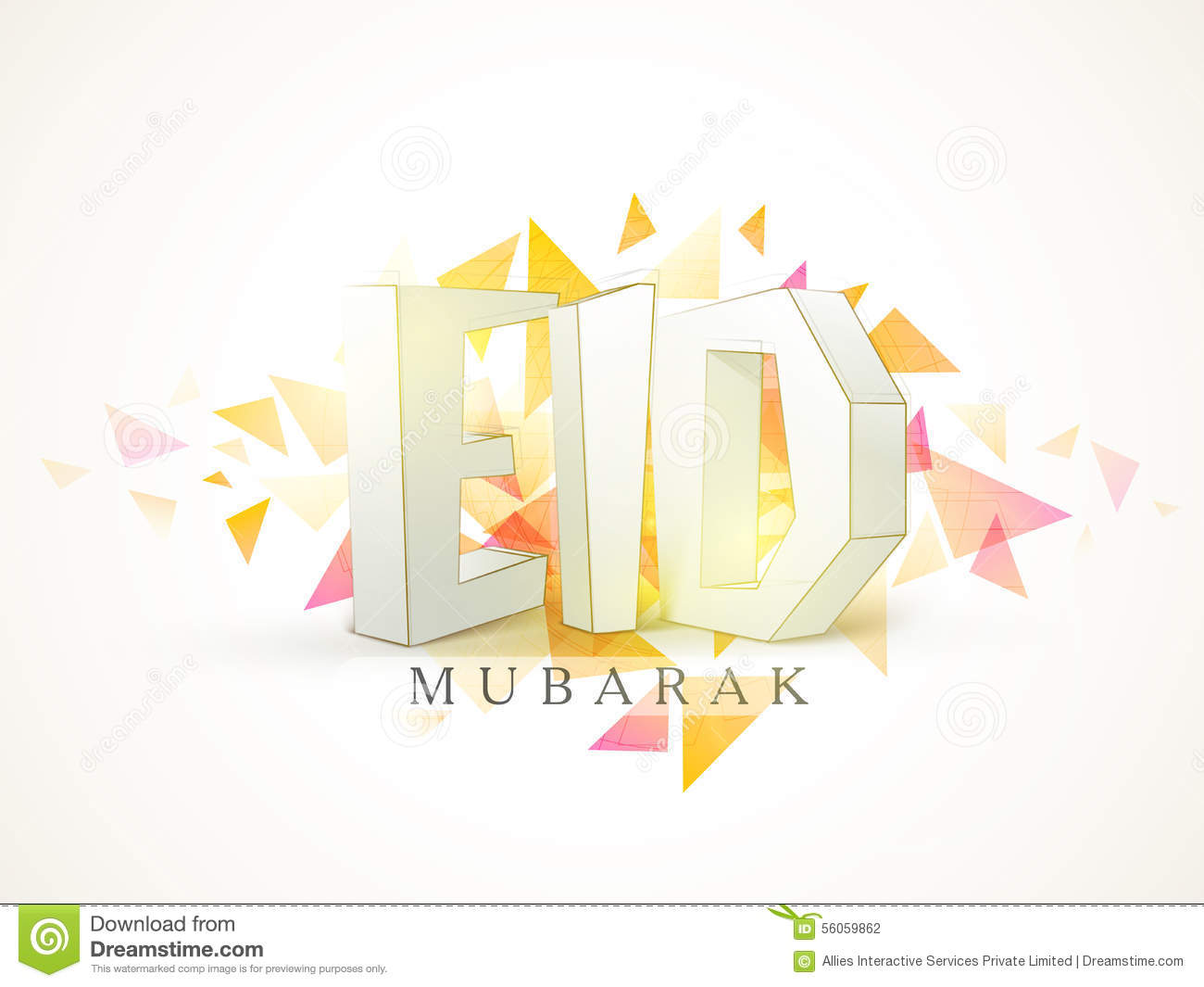 Eid mubarak celebration with stylish 3d text stock illustration download eid mubarak celebration with stylish 3d text stock illustration illustration of greeting m4hsunfo