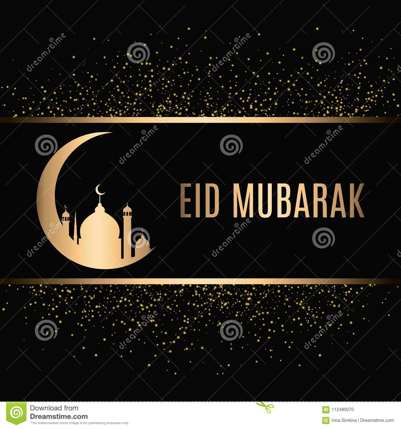 eid mubarak design background vector illustration for greeting card poster and banner stock vector illustration of islam lantern 112480070 https www dreamstime com eid mubarak design background vector illustration greeting card poster banner eid mubarak design background gold sparkling image112480070