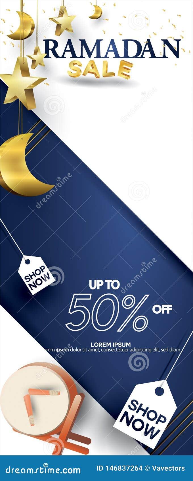 05c1aeb9f3 Eid Mubarak Or Ramadan Kareem For Roll Banner, X Banner, Or Roll Up ...