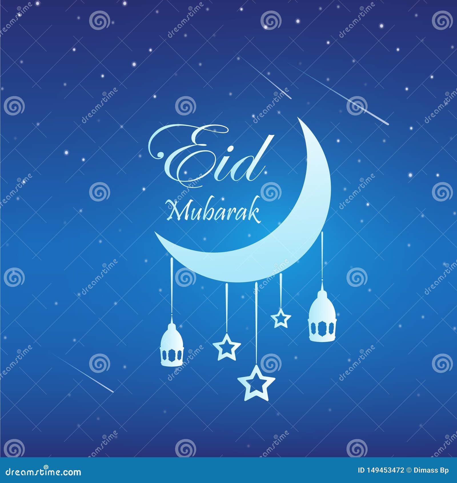 Eid Mubarak t?o z ksi??yc i gwiazdami