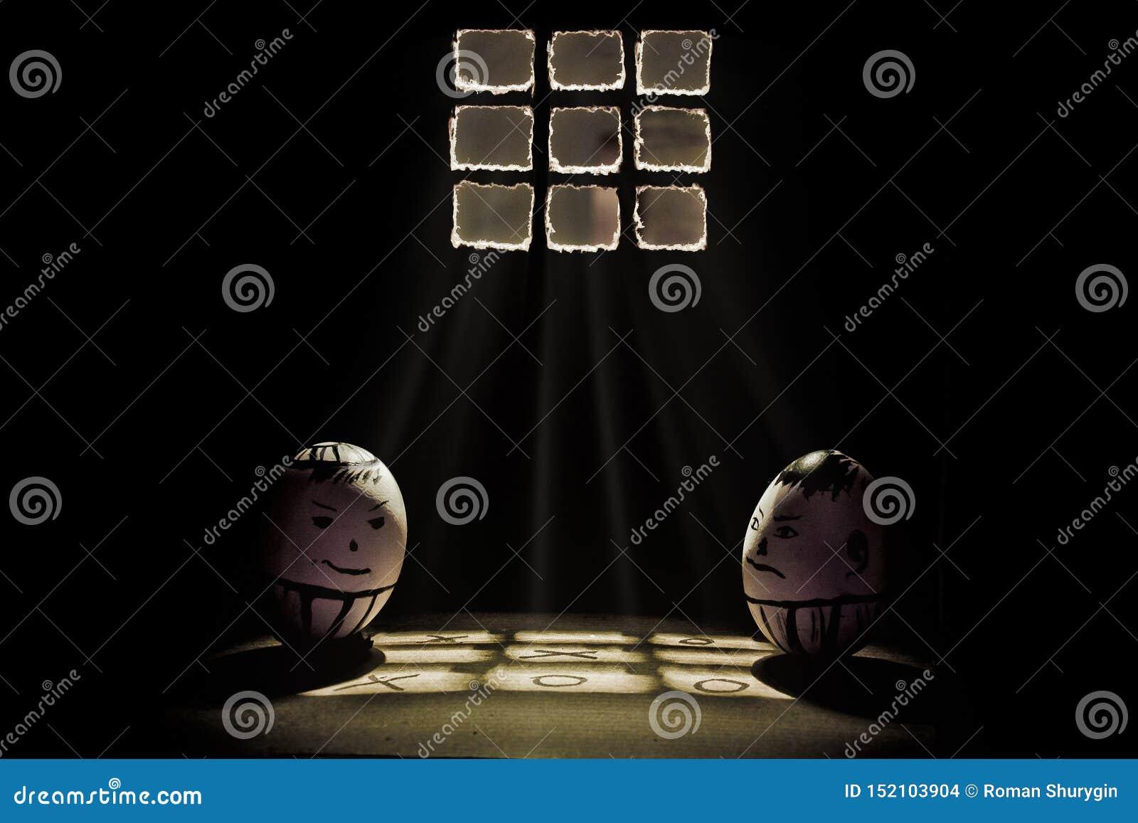 Eier im Gefängnis