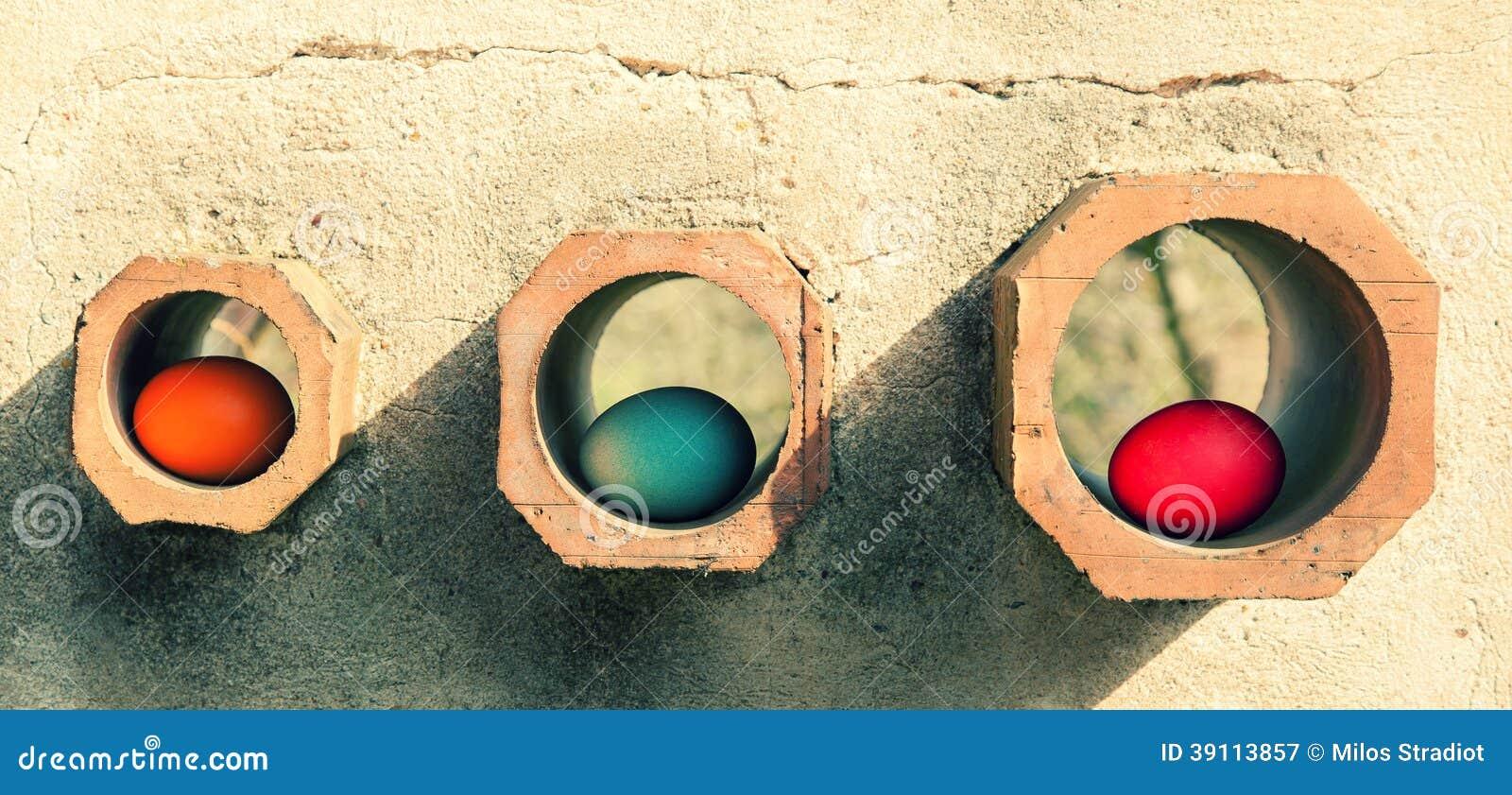 Eieren in gaten
