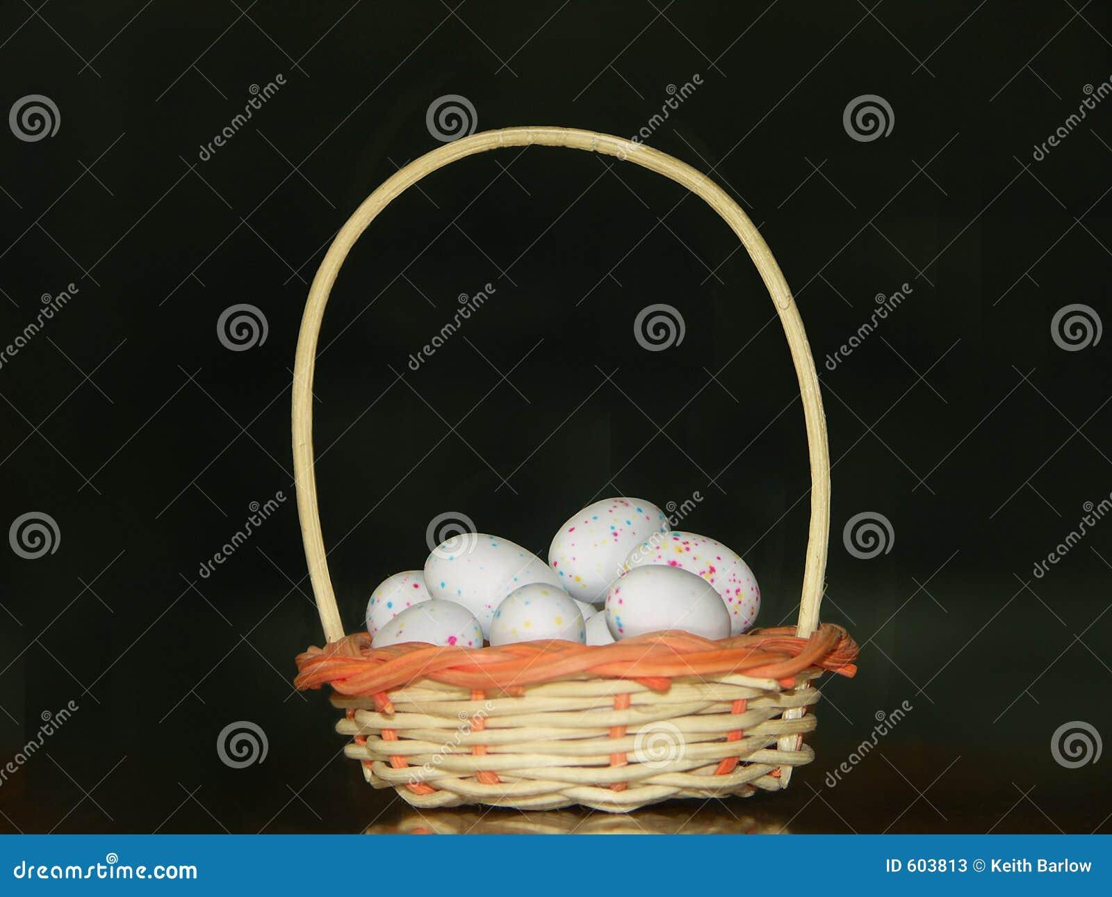 Eieren in mand