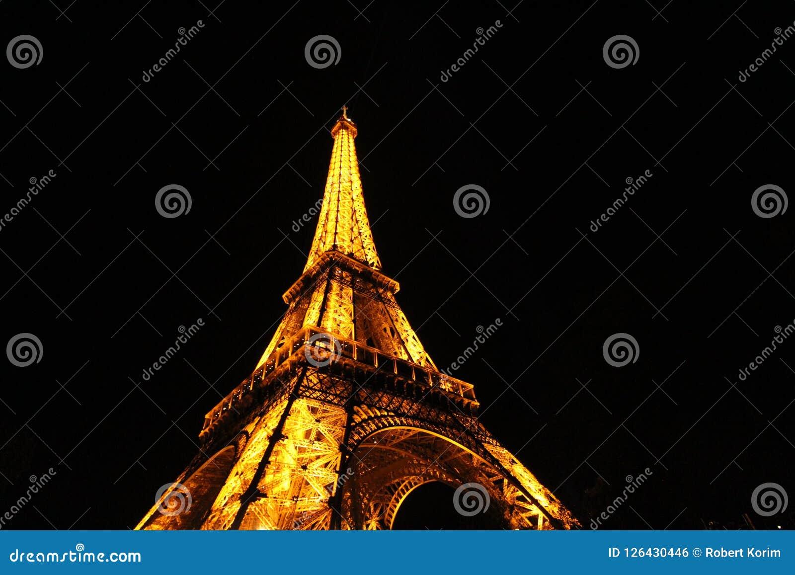 Eiffel nattparis torn