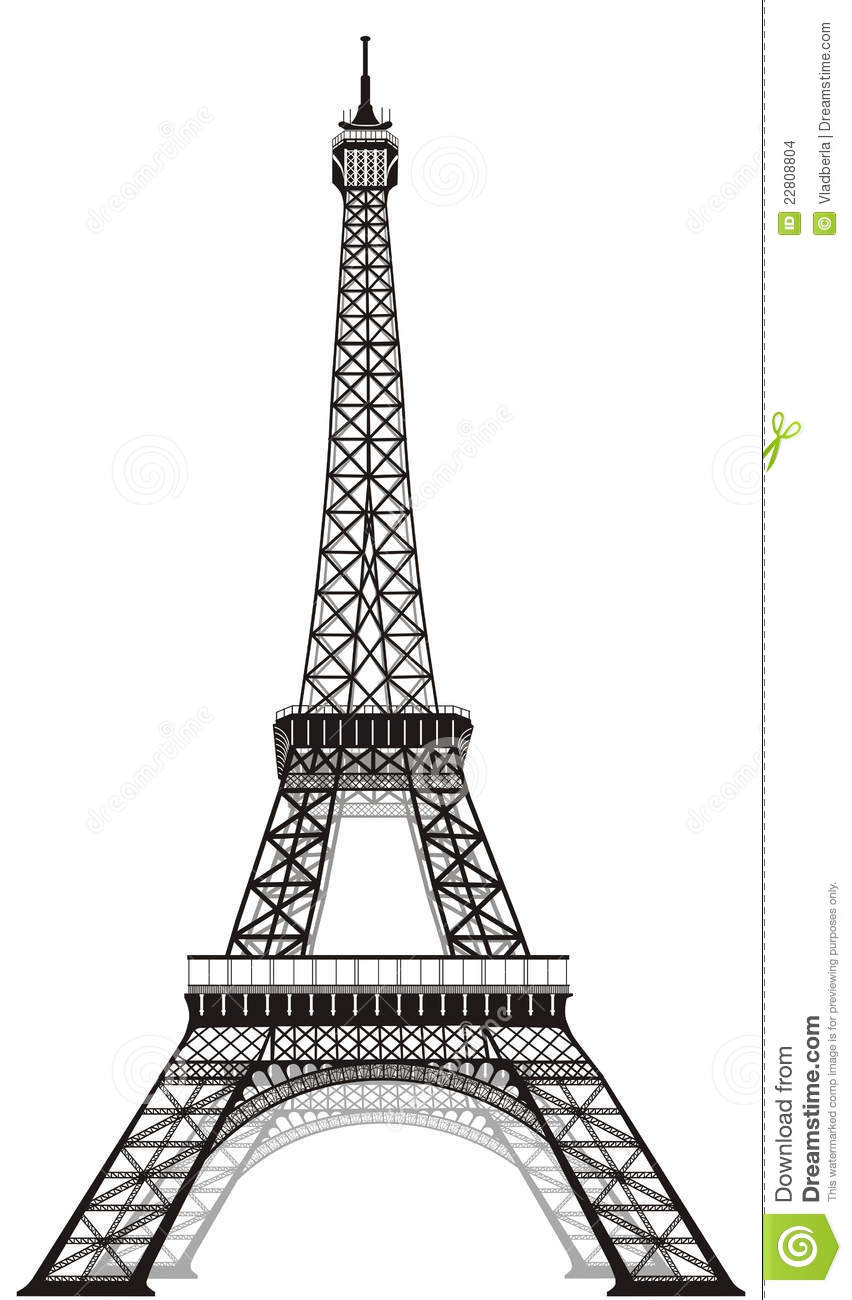 eiffel tower stock images image 22808804