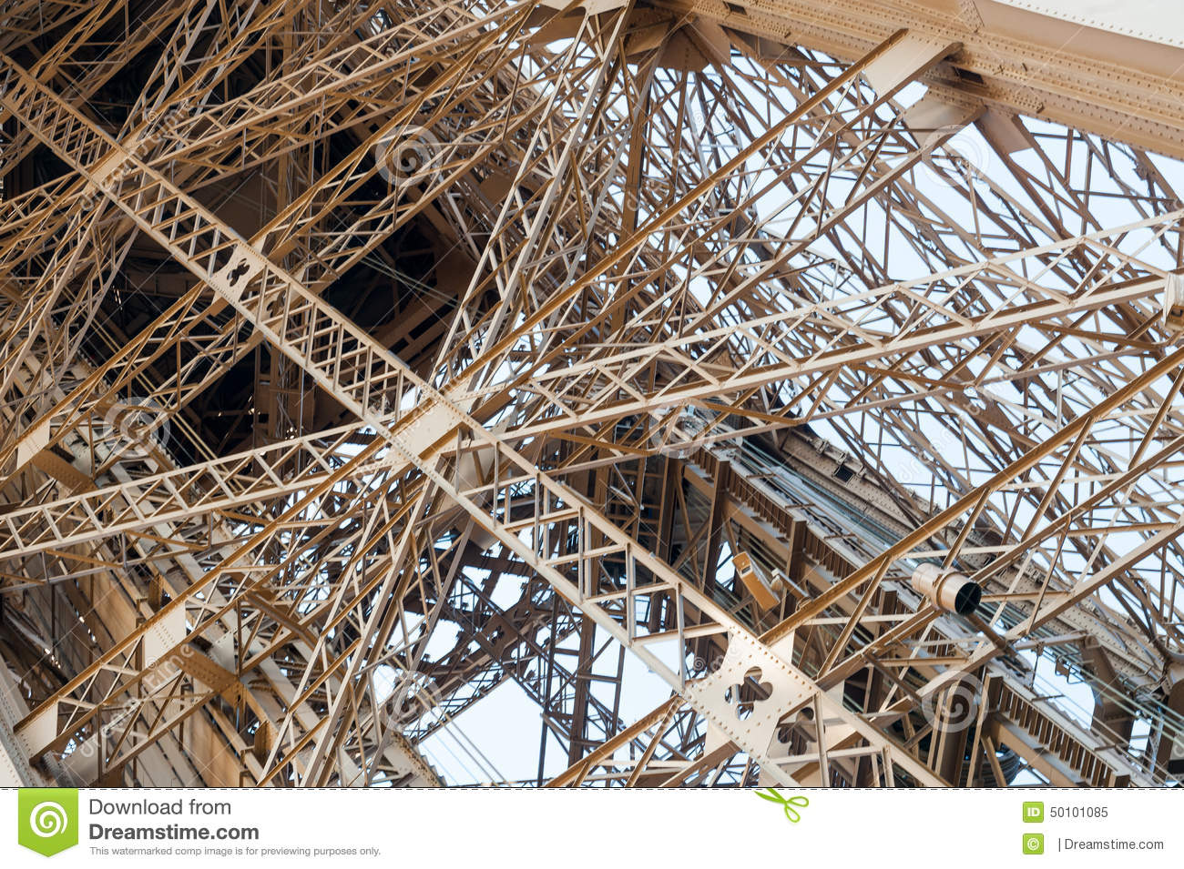 Eiffel tower architectural detail stock image image for Eiffel architect