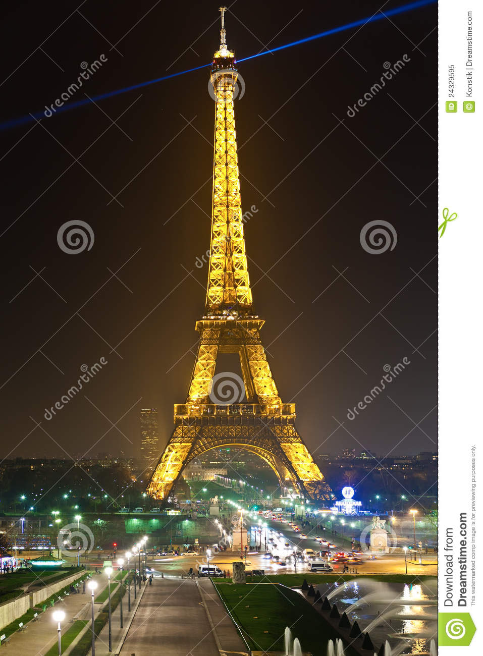 Eiffel tower in festive illumination to birthday editorial image image 243 - Illumination a paris ...