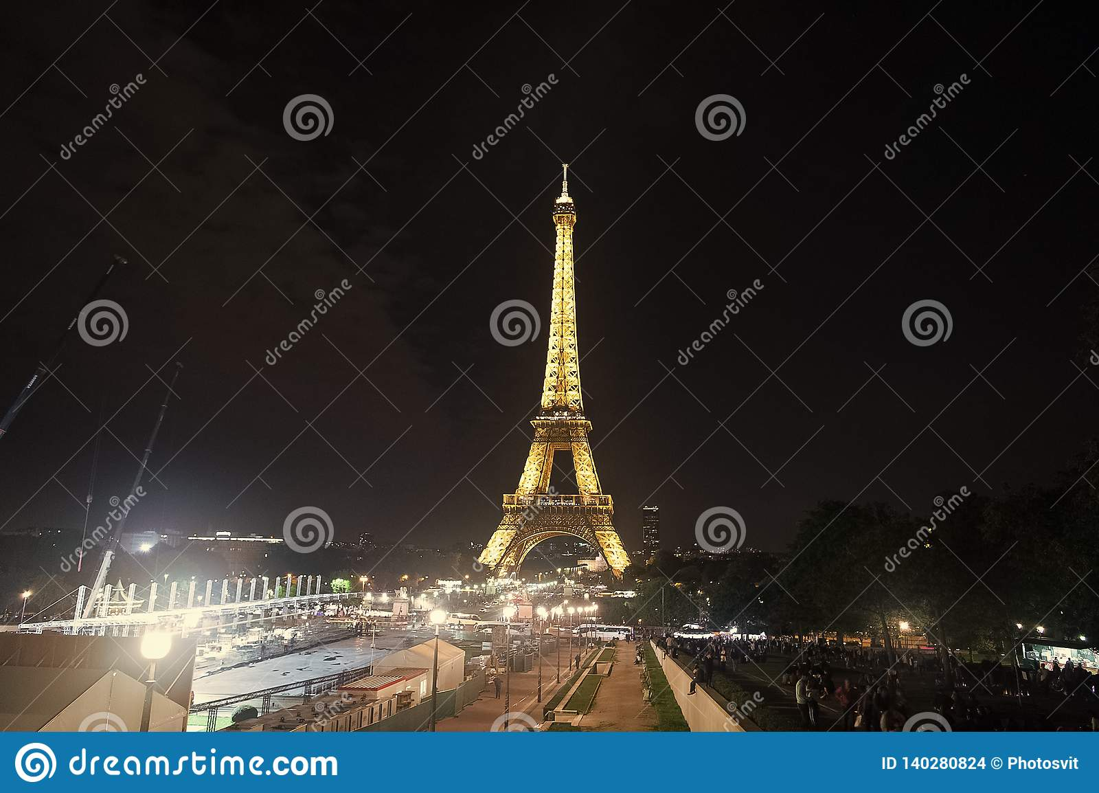 Eiffel tower in paris. Eiffel tower is symbol of love and paris. Romantic life background