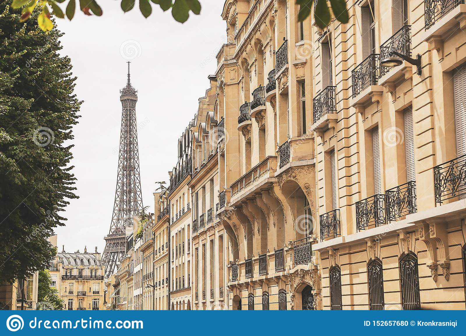Eiffel Tower In Paris Wallpaper Stock Photo Image Of Background Prints 152657680