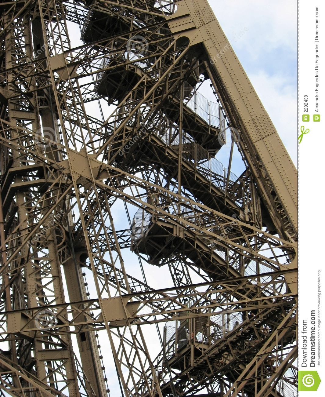 Eiffel tower stairs stock photo image of tower stairs for Stair tower