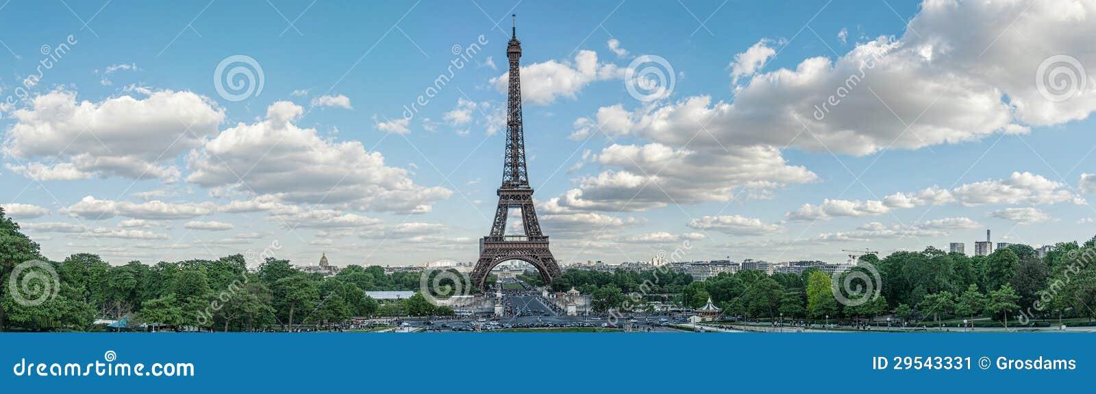 Eiffelturm-Panorama