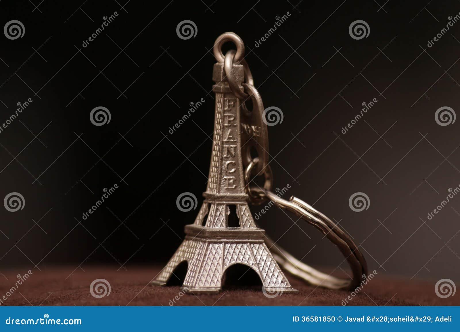 Eiffelturmschlüsselring