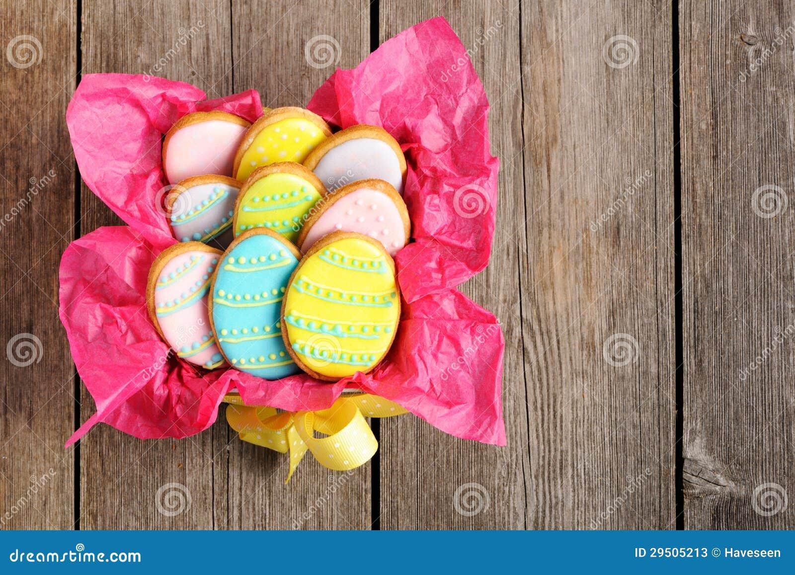 Eigengemaakt de peperkoekkoekje van Pasen