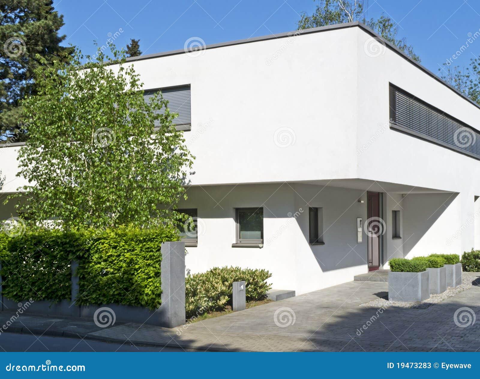 eigentijds huis stock foto 39 s afbeelding 19473283