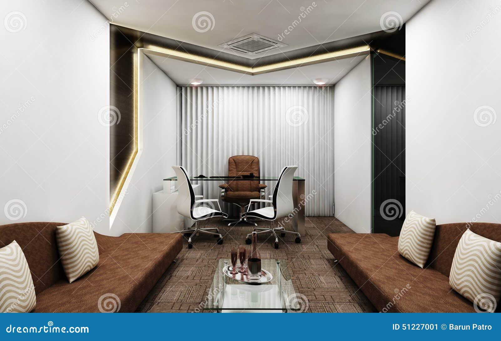 Eigentijdse Directeur Room