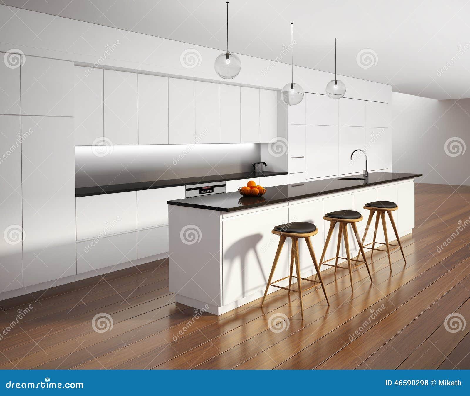 Keuken scandinavisch decor - Witte keuken decoratie ...