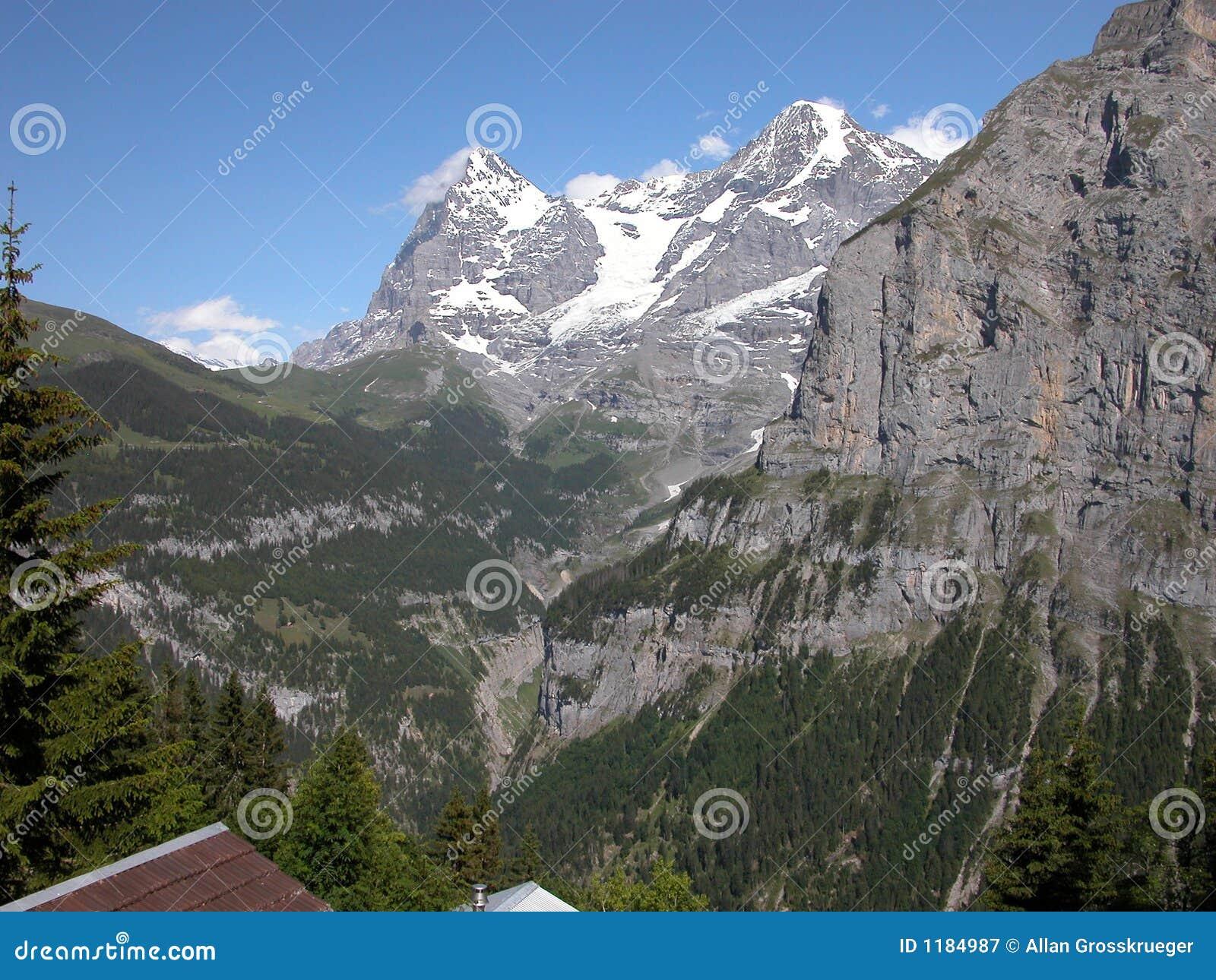 Eiger murren Швейцария