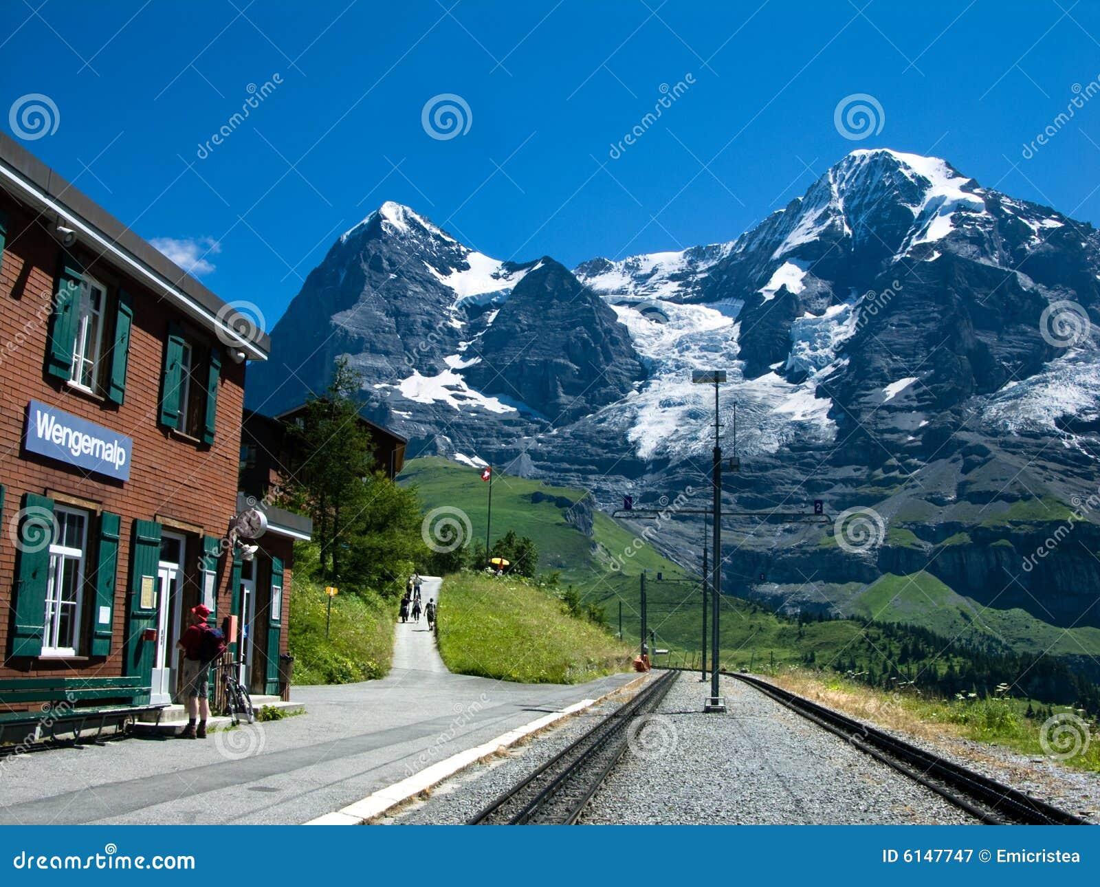 Eiger, stacja kolejowa