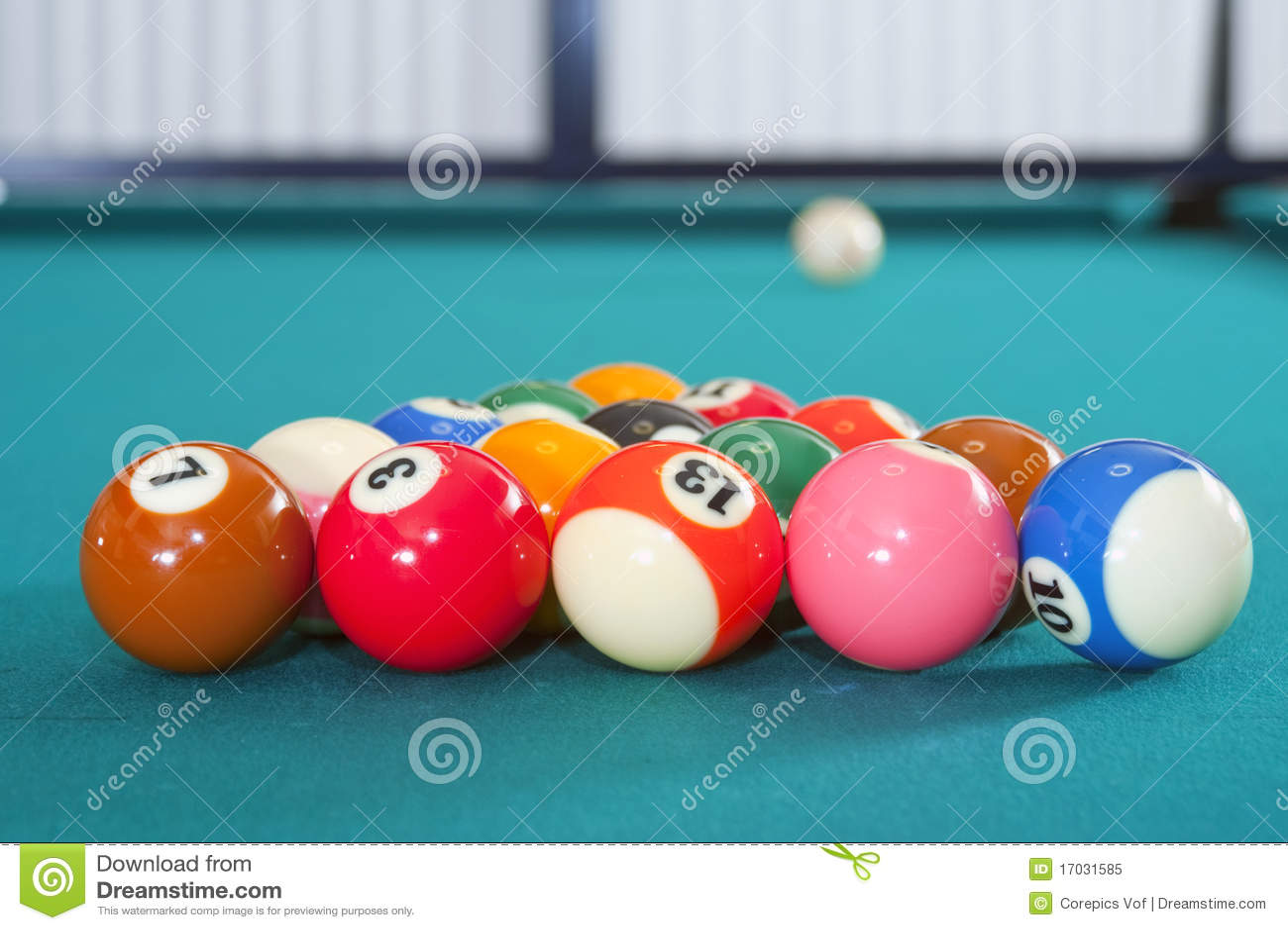 Eight Ball Pool Royalty Free Stock Photo - Image: 17031585