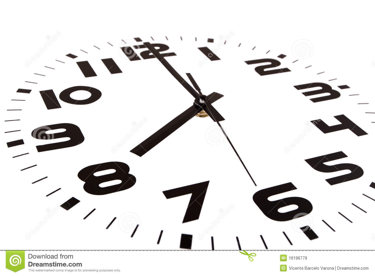Eight Oclock Royalty Free Stock Images Image 16196779
