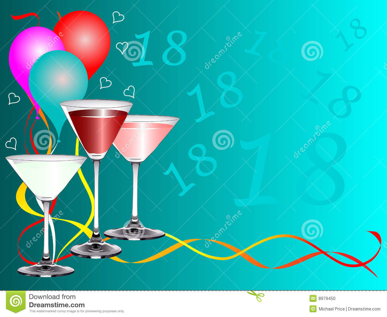 a birthday party template royalty stock images image 14342959 eighteenth birthday card template stock photo