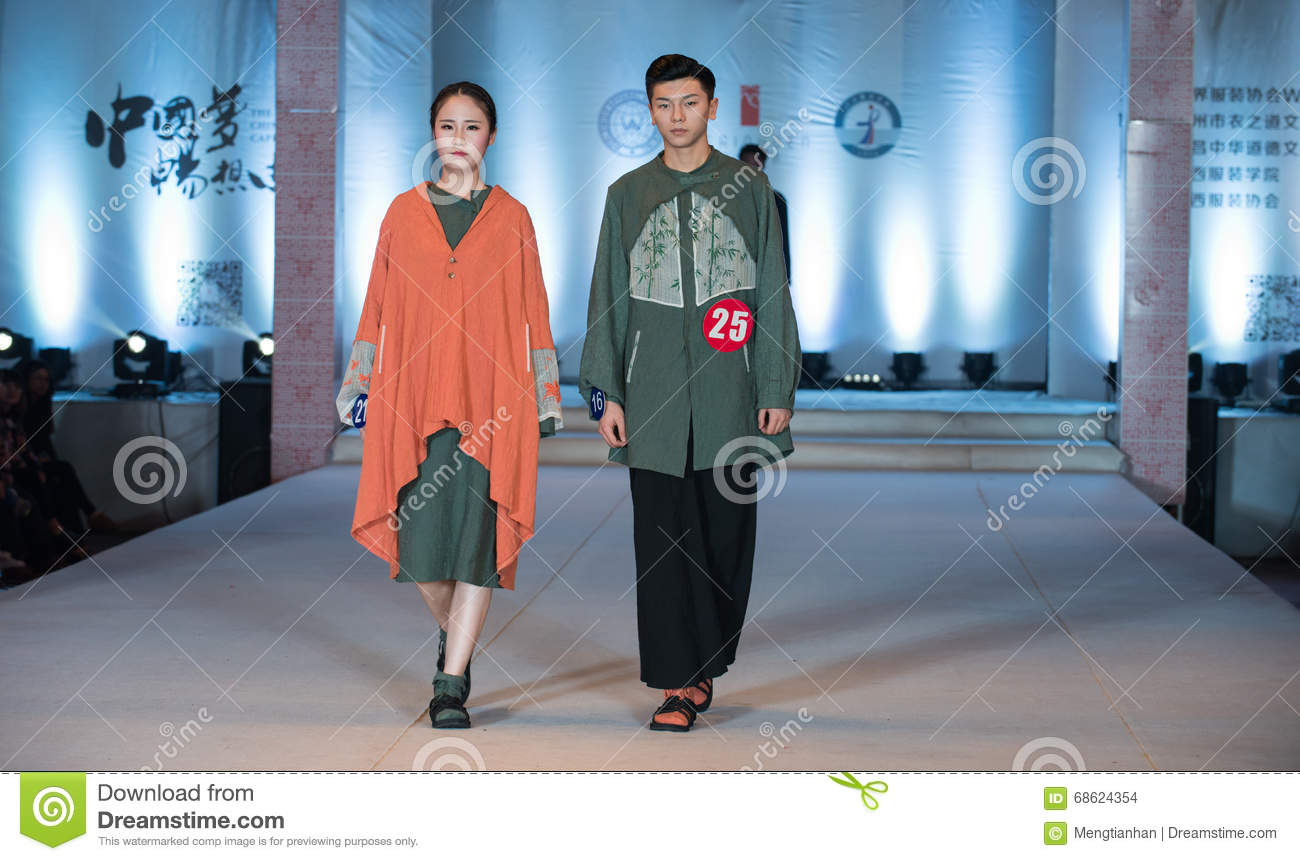 Eighteenth Series Color Spell Fashion Show Editorial Stock Image Image Of Fashion Third 68624354
