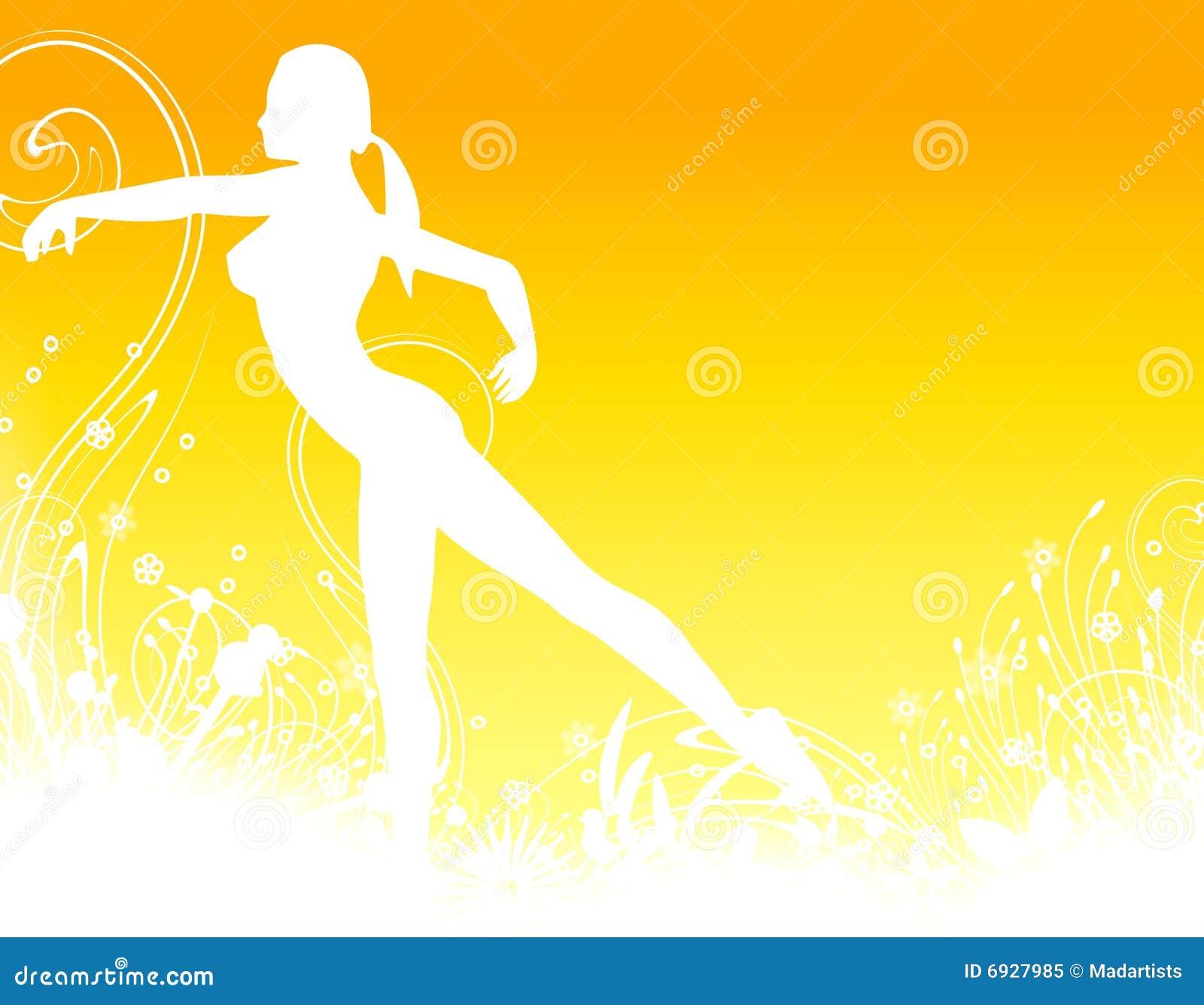 Eignung-Tanz-Hintergrund