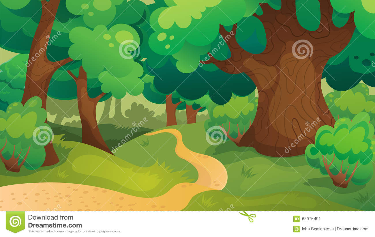 Eiken Forest Game Background