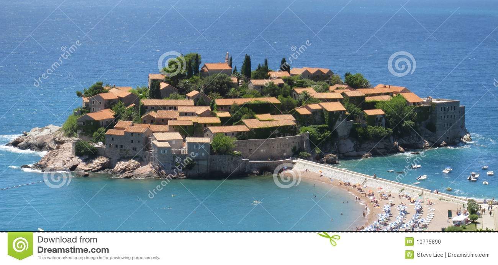 Eiland in Montenegro