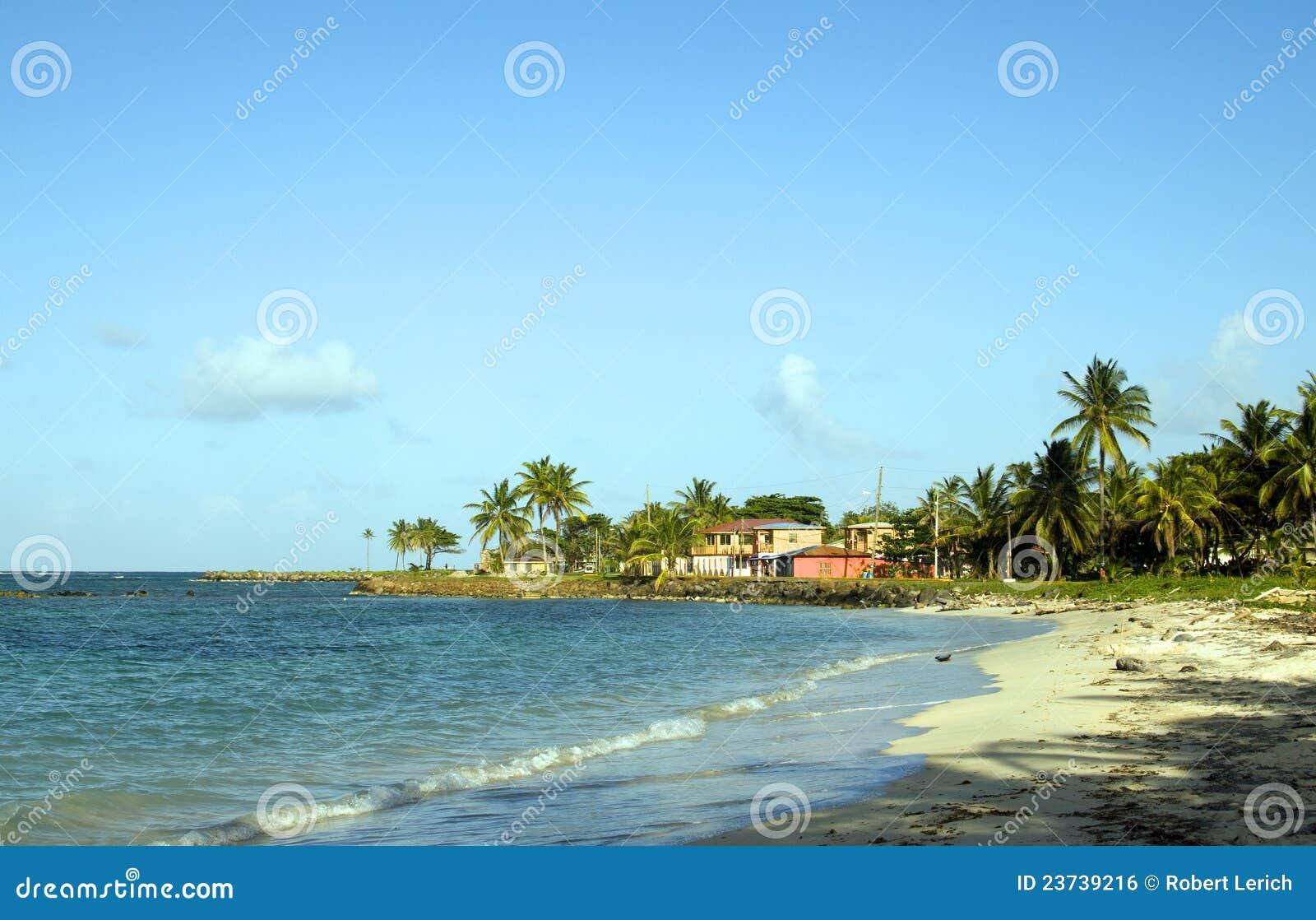 Eiland nicaragua van het graan van het hotel van het strand van het eind van het noorden het - In het midden eiland grootte ...